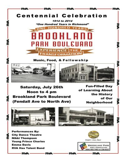 Centennial Celebration Poster